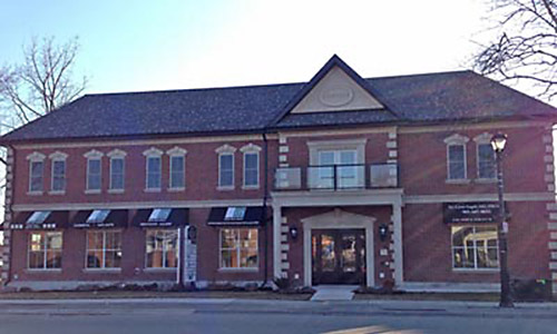 Dentistry in Streetsville | office building